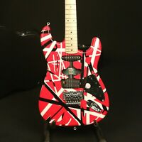 Handmade Painting Vintage ST Electric Guitar FR Bridge Basswood Body Top Quality