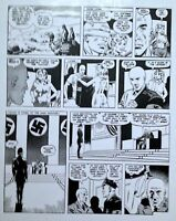 """WALLY WOOD  """"CANNON"""" 4 PG28  CLASSIC 1970s SEXY SPY STRIP  ART TRANSPARENCY"""