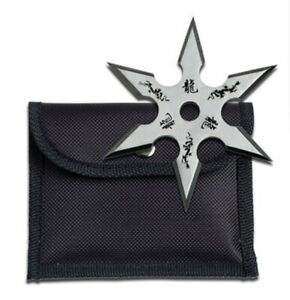 Ninja Training Throwing Star Practice Dense Foam -  w/pouch New!!!!!