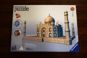 Ravensburger 3D Puzzle TAJ MAHAL jigsaw + Construction for Ages 12-99 - Agra