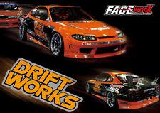 FWD033 Drift Works Decals Sticker for 1/10 rc racing drift car
