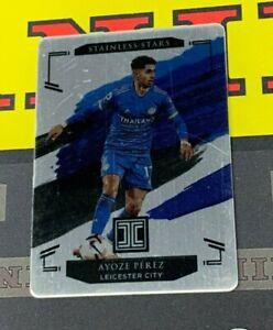 2020-21 Impeccable Premier League Soccer Ayoze Perez Metal Card /57