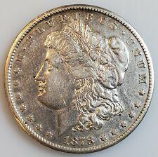 1878-CC Morgan Silver Dollar $1 Carson City w/ XF+ Details