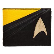 Bioworld Star Trek Operations Uniforn Captain Kirk Badge Bifold Wallet MW453PSTA