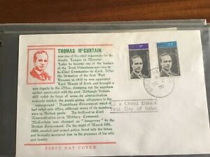 "Irish First Day Cover ""Thomas McCurtain"" 26-X-70 (1970)"