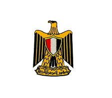 Patch flag coat of arms shield emblem country embroidered badge egypt