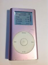 Apple iPod Mini A1051 1st Generation Pink 4GB M9435LL  Battery upgrade*