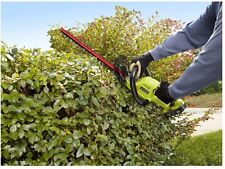 Ryobi ONE+ 18 In Cordless Hedge Trimmer 18 Volt Lithium Ion Grass Garden Yard