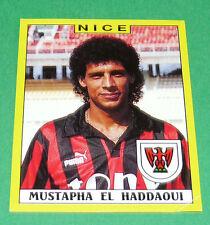 N°247 M. EL HADDAOUI OGC NICE OGCN NISSA RAY PANINI FOOTBALL FOOT 89 1988-1989