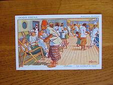 CPA Illustrateur Gervese Croquis d'escale Messageries Maritimes Colombo n°2