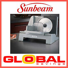 NEW SUNBEAM ES9600 CAFE SERIES® 17CM FOOD SLICER  2 YRS WNTY  P'UP AVAILABLE