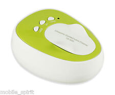 CE-3200 Ultrasonic Contact Lenses Cleaner Machine Daily Care 100—240V in Green