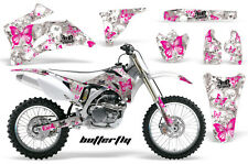 AMR RACING OFF ROAD BUTTERFLY GRAPHIC DECAL KIT YAMAHA YZ 250/450 F 06-09 BIBGW