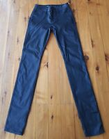 RIDERS BY LEE Black Lightweight Mid Rise Super Skinny Stretch Jeans Size 6