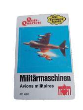 Quartett - Militärmaschinen / Berliner Spielkarten Nr. 6314991