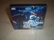 STAR WARS CHESS.SEGA MEGA CD PAL .EMPTY REPLACEMENT CASE+INLAYS ONLY.