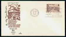 New listing Mayfairstamps Canada Fdc 1967 Capital Cachet Alaska Highway Art 8c First Day Cov