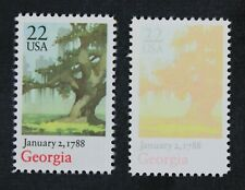 Ckstamps: Us Error Efo Stamps Collection Mint Nh Og 1 Color Error