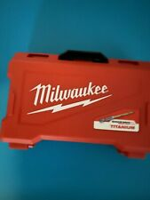 Milwaukee SHOCKWAVE IMPACT DUTY Titanium Drill Bit Set