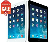 Apple iPad Air 1st 32GB WiFi 9.7in Retina Space Gray White Silver (R-D)