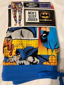 BATMAN The JOKER Justice League movie BOOK New MEN'S Pajama Sleep LOUNGE Pants