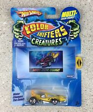 Hot Wheels Scorpedo Color Shifters Creatures Car Yellow Die Cast R7808