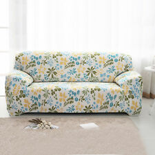3 Seater L Shape Stretch Elastic Sofa Cover Couch Slipcover Flower Pattern#9