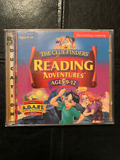 The Clue Finders: Reading Adventures Ages 9-12 for Pc, Win 95 98/Mac Cd Rom New