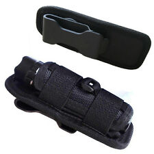 150mm Nylon Holster Holder Case Belt Bag Pouch for LED Flashlight Torch
