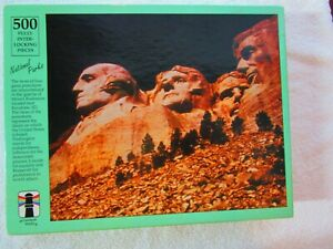 Mount Rushmore National Parks Puzzle 500 pc. Rainbow Works   FACTORY SEALED