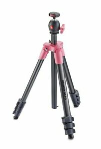 Manfrotto Compact Light Aluminum Tripod (Pink)
