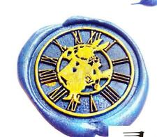 Alice in Wonderland Rabbit Clock Paint Wax Seal Stamp Seal Scarpbooking Stamp