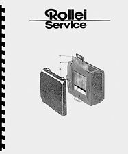 Rollei Rolleiflex SL66 SL 66 Film Magazine Service & Repair Manual