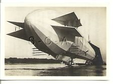 WWI Org German Real Photo- Cigarette Card- Zeppelin- Army Airship LZ 3- 1906