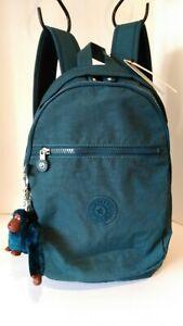 NWT Kipling Challenger Backpack, Night Teal Tonal