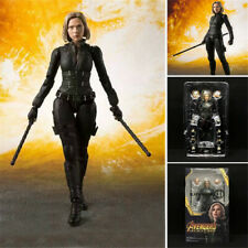 6'' Avengers Infinity War Black Widow Figure S.H.Figuarts Collectible Toy In Box