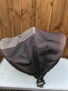 PHIL AND TEDS EXPLORER BUGGY MAIN HOOD BLACK/GREY=