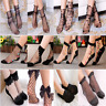 Summer Sexy Fishnet Ankle High Socks Lady Mesh Lace Fish Net Short Socks