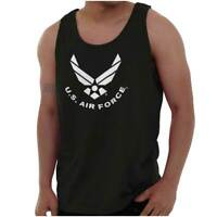 United States Air Force America Official Logo Adult Tank Top Sleeveless T-Shirt
