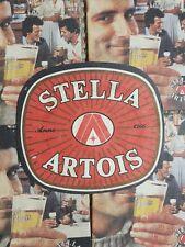 Vintage Stella Artois Beer Mats x7 1970'/80's