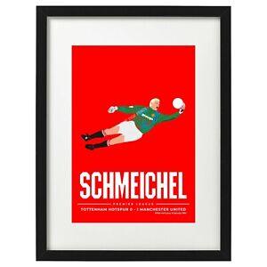 Peter Schmeichel Manchester United art print / poster