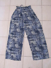 Gorgeous Supre Vintage Wide Leg Flared Palazzo Harem Pants Size 12