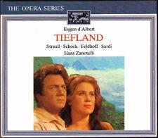 Eugen D'ALBERT: TIEFLAND Rudolf Schock Isabell Strauss Hans Zantotelli BMG 2CD