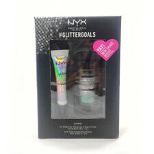NEW!!! NYX Glitter Kit -GLISET01 (Crystal, Black, Emerald) + FREE SHIPPING