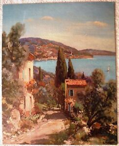 Winding Shore by Potronat - Canvas Style Lithograph