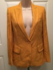 STELL/McCARTNEY Ladies Dress Jacket Mustard Color Size 36