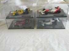 PANINI F1 COLLECTION - 4 Models, Brabham, Renault, Ferrari, McLaren
