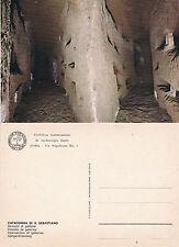 GALLERIES CATACOMBS OF SAINT SEBASTIAN ROME ITALY UNUSED COLOUR POSTCARD