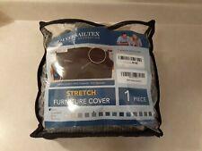 "H.VERSAILTEX Chair Cover Chair Slipcover Sofa Cover (Armchair 32""-48"", Dove)"
