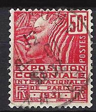 France 1930 Exposition coloniale Yvert n° 272 oblitéré 1er choix (3)